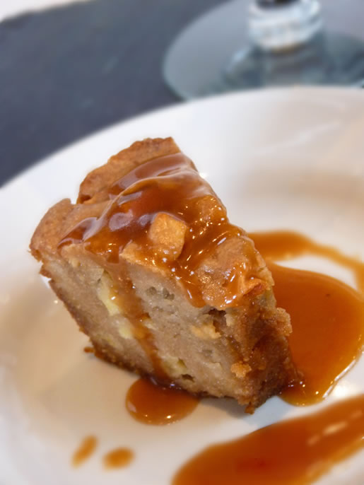 trizzle your treat – toffee apple cake