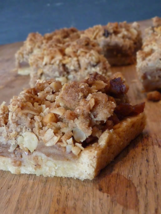 time to hit the bars – brandy apple bars