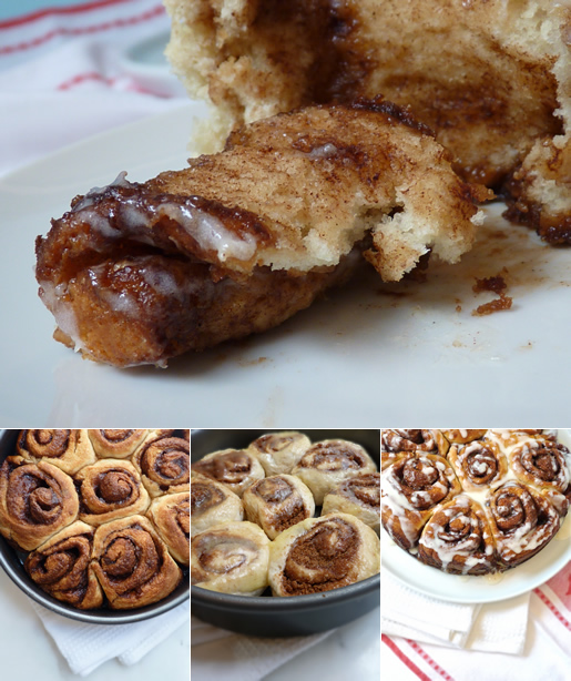 buns on the run — easy cinnamon buns