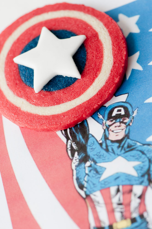 Captain America Cookie