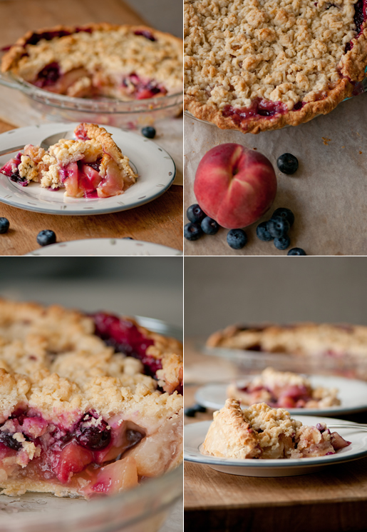 the scent of a peach – peach n blueberry pie