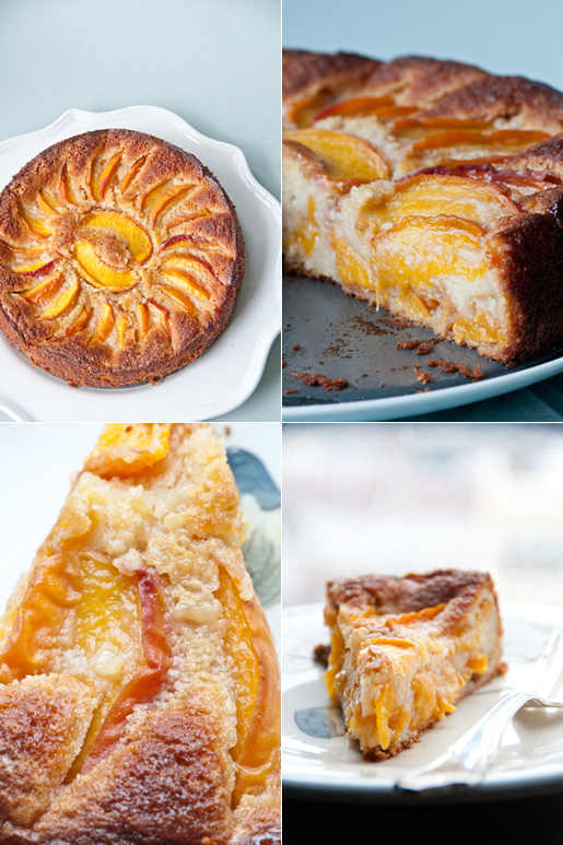 Bourbon Peach Torte | Hungry Rabbit