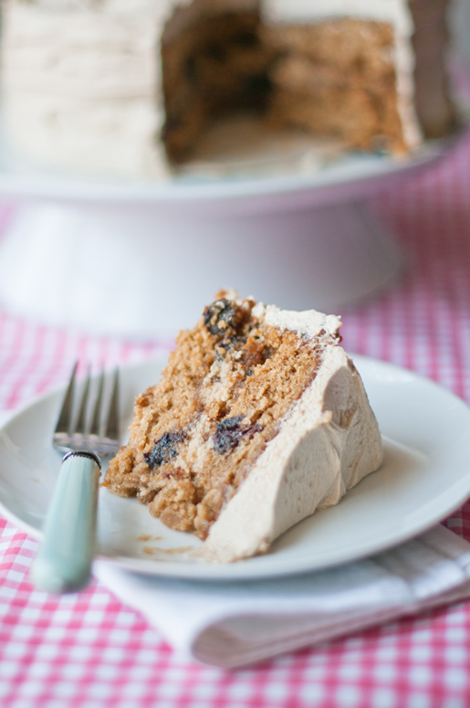 The Evolution Of A Notebook Oatmeal Rum Raisin Cake