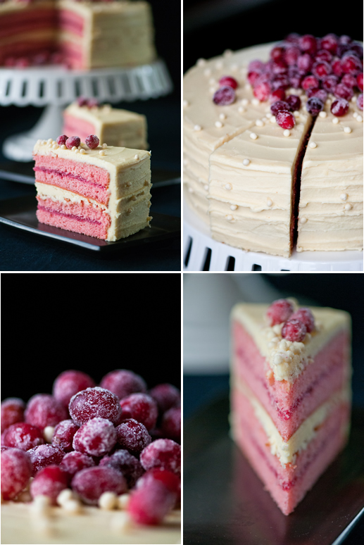 Hungry Rabbit – White Chocolate Cranberry Cake