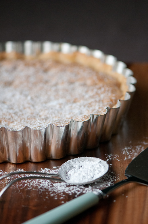what i did – deep-dish brown butter hazelnut tart