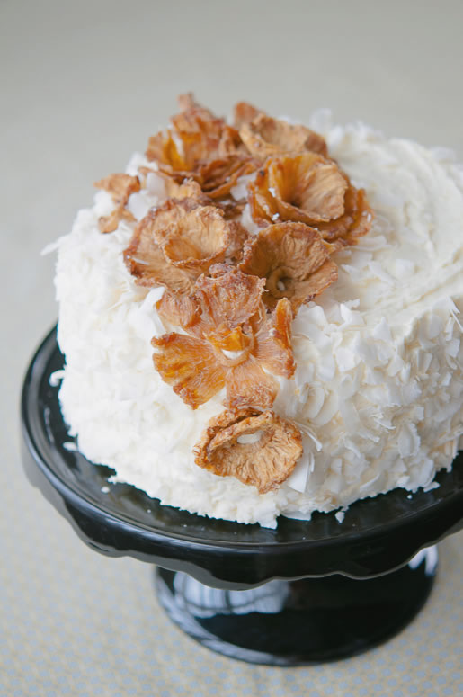 seasonal absence – pineapple coconut cake