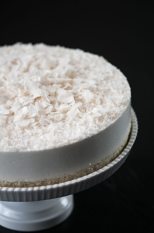 sense of taste – coconut mousse cake