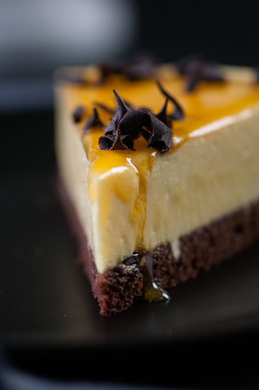 Passionfruit Mousse Cake Hungry Rabbit