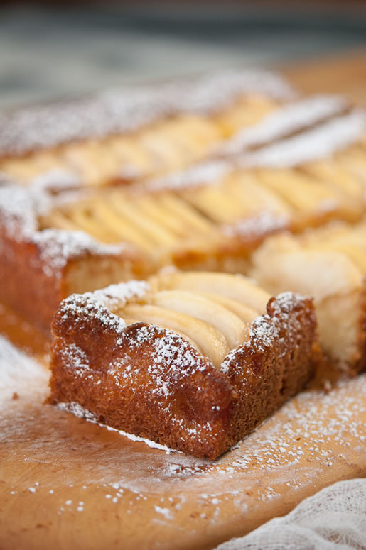 asset management – apple almond cake